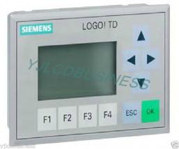 New 6ED1055-4MH00-0BA0 6ED1 055-4MH00-0BA0 Siemens Logo!Td Text Display Warranty - $137.75