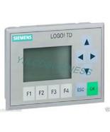 new 6ED1055-4MH00-0BA0 6ED1 055-4MH00-0BA0 Siemens LOGO!TD TEXT DISPLAY ... - $137.75