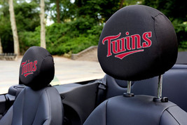 Minnesota Twins MLB Auto Car Head Rest Covers Minnesota Twins *JERSEY VE... - $15.67
