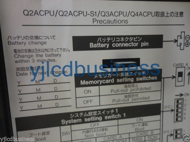new mitsubishi PLC Q2ACPU-S1 Unit module 90 DAYS WARRANEW - $665.00