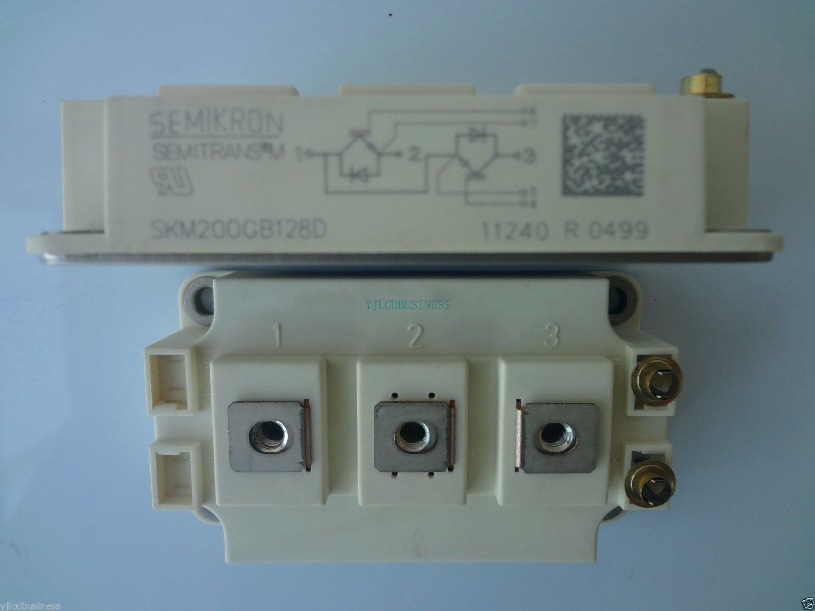 Primary image for new SKM200GB128D semikron module 90 days warranty