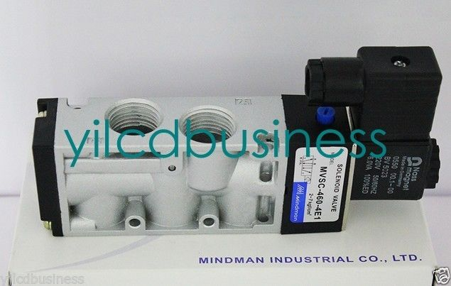 Primary image for Mindman MVSC-460-4E1 Solenoid valve 90 DAYS WARRANTY