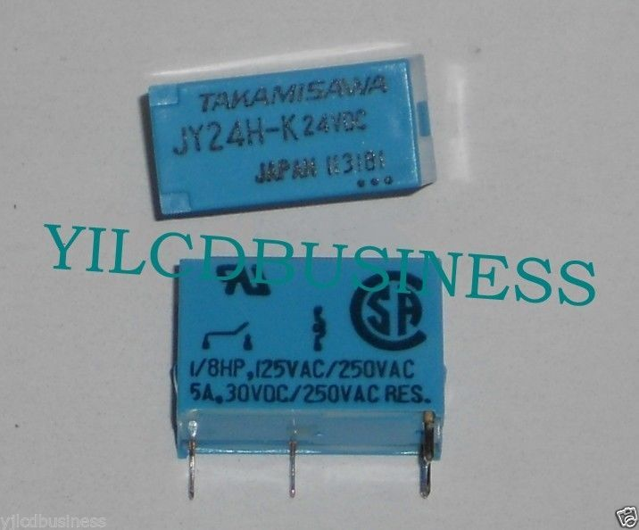 Primary image for Fuji new JY24H-K24VDC Power relay 90 days warranty