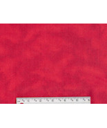 Rich Red Tie Dye Flannel, cotton quilting fabri... - $6.90