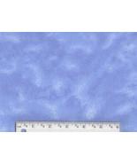Sky Blue Tie Dye Flannel, marble cotton blender... - $6.90