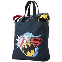 Justice League Silk Throw Blanket & Canvas Tote Set - Brand New With Tag... - $56.06