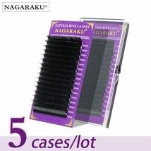 NAGARAKU® Eyelashes Individual Eyelash 5 Cases Set 16rows 0.05mm Synthet... - $32.95