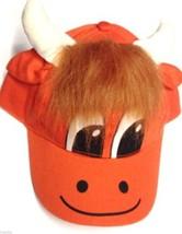 Highland Escocés De La Vaca Infantil Ajustable Gorra Béisbol - $19.30