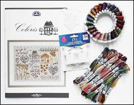 Coloris Embroidery Floss Gift Pack 6 strand  8.7 yd skeins cross stitch ... - $36.00