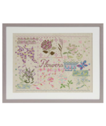 Flowers DMC Coloris cross stitch book DMC  - $5.00