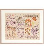 Sweet Home DMC Coloris cross stitch pattern book DMC  - $5.00