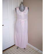 Vintage Nancy King Pink Nightgown 1950's - $7.99