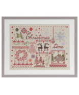 Christmas DMC Coloris cross stitch pattern book DMC  - $5.00