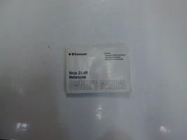 2001 Kawasaki Ninja ZX-9R Motorcycle Owners Operators Owner Manual NEW - $54.44