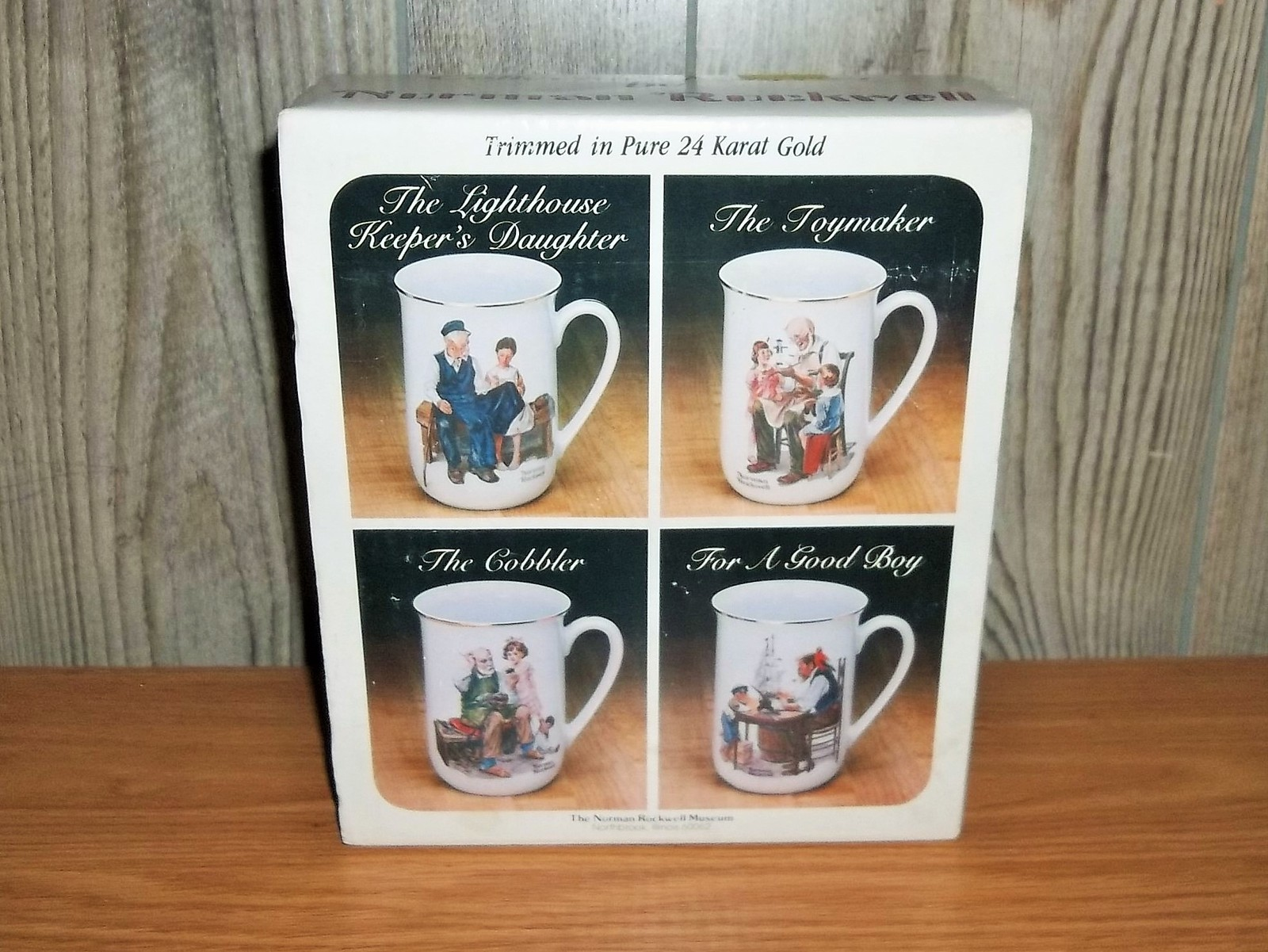 55c15f2dc4d Vintage New in Box Norman Rockwell Mugs Set and 50 similar items