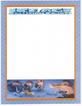 Ice Age Collision Course Stationery Printer Paper 26 Sheets - $11.87
