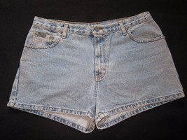 1980s Vtg Sz 13 Jr Calvin Klein Classic Denim Blue 5 Pocket Jeans Shorts... - $31.67