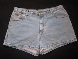 1980s Vtg Sz 13 Jr Calvin Klein Classic Denim Blue 5 Pocket Jeans Shorts Mexico - $31.67