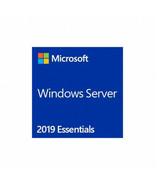 Microsoft Software G3S-01299 Windows Server Essential 2019 16C with DVD ... - $522.08