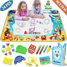 Large AquaDoodle Mat - Aqua Magic Mat with Kids Backpack - Doodle Board ... - $28.49
