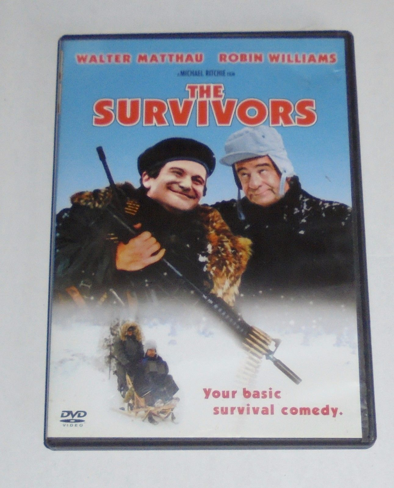 The Survivors (DVD, 2002) Robin Williams, Walter Matthau Movie OOP