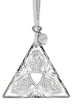 Waterford Crystal 2020 Times Square Goodwill Triangle ornament # 4003549... - $147.26