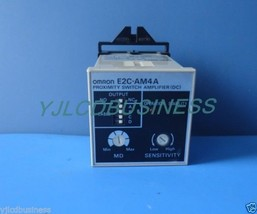 E2C-AM4A Omron proximity switch controller 90 days warranty - $82.65