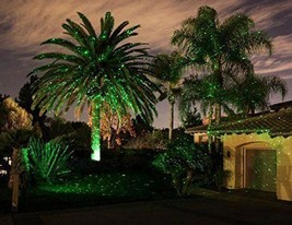 Outdoor Holiday Green/Red Laser Projector Landscape Light Garden Home Ch... - $75.00