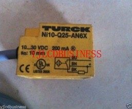 Turck Proximity Switch New  Ni10-Q25-AN6X - $43.70