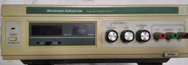 Dual DC Power Supply Beckman Industrial MPS60 Healthcare Lab Science Equipment image 1