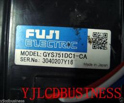 New GYS751DC1-CA 200V 0.75KW 750W 3000r/min Fuji Servo Motor 3-phase - $765.61