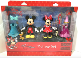 Disney Parks Mickey Minnie Mouse Princess Delux... - $24.90