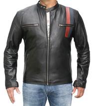 Mens Bespoke Speed Fashion Leather Jacket Real Cowhide Men Leather Jacket - $118.60+