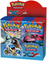 Pokemon TCG XY Base Set 9 Booster Pack Lot 1/4 Booster Box - $51.99