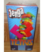 Hasbro Jenga Tetris Game with Instructions COMPLETE - $24.16