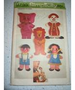 Vintage 1971 Simplicity Circus Transfer Patterns Pattern #9739 - $5.99