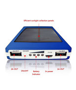 Newest 80000mAh Portable Solar Charger Dual USB Battery Power Bank - $14.99