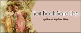 Bonanza Booth Banner| AngelsButterflies |  Pers... - $4.99