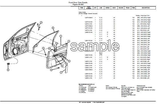 Dodge Grand Caravan Parts Diagram Manual Guide