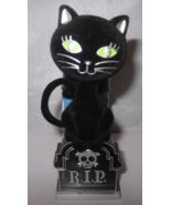 Bath & Body Works Wallflower Diffuser Plug Light Up Halloween RIP Black Cat - $39.99