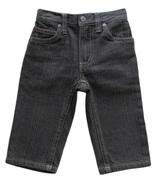 U.S. Polo Assn. 12 Mos. Baby Boys Charcoal Gray Denim Jeans - $5.99