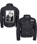 Nirvana-Kurt Cobain-Kurt-Large Denim Jacket - $58.04