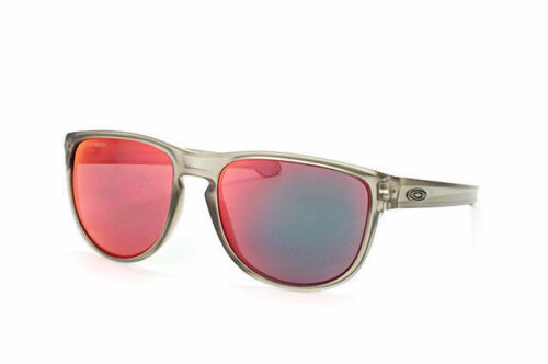 Oakley Sunglasses OO9342-03 Sliver R Polarized Matte Grey Ink/Torch Iridium
