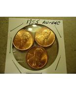 THREE 1955 LINCOLN WHEAT CENTS        >> L@@K  - $3.95