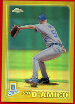 2001 Topps Chrome GOLD REFRACTOR Jeff D'amico #516 ROYALS - $8.91