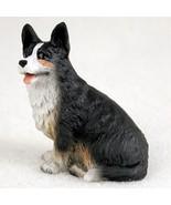 WELSH CORGI CARDIGAN TINY ONES DOG Figurine Statue Pet Lovers Gift Resin  - $8.99