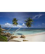 Seychelles Beach Poster - $6.95