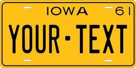 Iowa 1961 Personalized Tag Vehicle Car Auto License Plate - $16.75