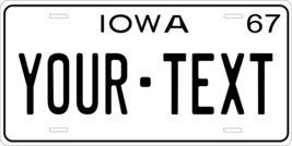 Iowa 1967 Personalized Tag Vehicle Car Auto License Plate - $16.75