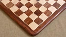 "Chess Board Wooden Shesham Golden brown Wood 17"" - 45 mm - SKU: M0023 - $200.99"